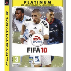 FIFA 10 - Platinum [PS3] + Manette DualShock 3 [PS3]
